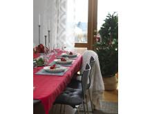 Cloth Sound, Place mat Idre, Runner Gislaved, Blanket Torp, x-mas decoration Tuva hart, Chair pad Velvet