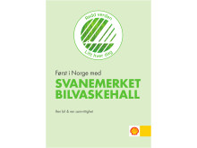 Først i Norge med svanemerket bilvaskehall