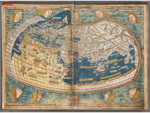 Nicolaus Germans världskarta från 1482