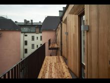 Kvarteret Torget - balkongvy