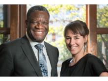 Mukwege och Maria porträtt_Mikael Jägerskog 2015-4806