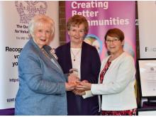 Brighter Whitehead receives Royal award