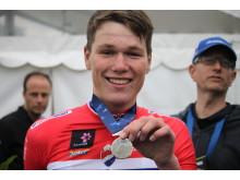 Søren Wærenskjold tar sølv under EM Landevei 2017