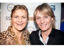 Tina Thörner och Jutta Kleinschmidt