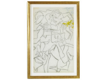Willem de Kooning. Estimate: DKK 1.6-2.2 million (€ 215,000-295,000).