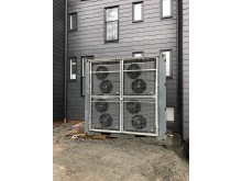 Energy Saves värmepumpar för tillfällig byggvärme spar 50 % av energikostnaden