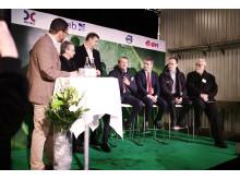 E.ON och OKQ8 invigde ny gasstation i Huddinge