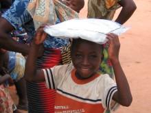 Myggnät skyddar mot malaria