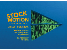 STOCKmotion Filmfestival 2016. Programkatalogens framsida.