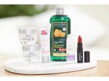 Logocos Naturkosmetik produkter fra mærkerne Logona og Sante