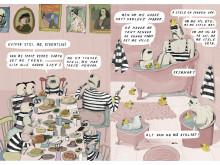 Illustrasjon frå Pølsetjuven