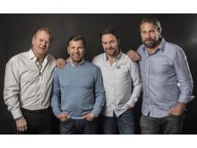 Guldkampen - Magnus Svensson, Mats Näslund, Charles Berglund, Peter Forsberg