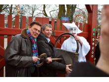 Ulf Pilggard_Nils-Erik Winther_Pjerrot åbner Bakken 2015