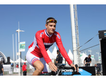 Markus Hoelgaard under sykkel-VM 2014