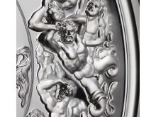 Pistrucci Waterloo Medal Reverse detail