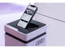 Audi e-tron functions on demand på CES 2019
