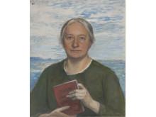 Porträtt av Ellen Key av Hanna Pauli