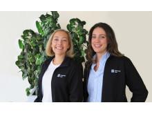Cassandra Larsson och  Frida Qvant, konsumentrådgivare Göteborgs Stad