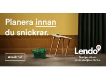 Planera innan du snickrar.  Jämför innan du lånar, med Lendo.