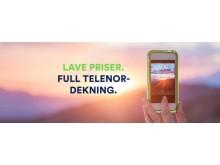 Lave priser. Full Telenor-dekning