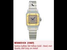A Santos Galbee Cartier watch stolen