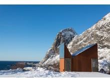 2014 die zehntschönste Toilette der Welt: Akkarvikodden auf den Lofoten