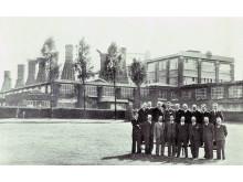 Norton 125 år - Äldre fabriksbild