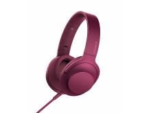 MDR-100 von Sony_Bordeaux-Pink_01