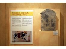 Ägyptisches Museum Leipzig - Votivstele mit Darstellung des Mnevis-Stiers