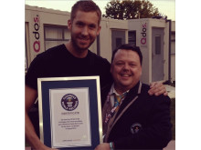 Calvin Harris - Guinness World Record