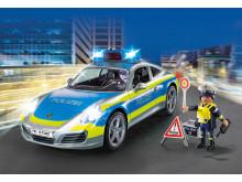 Der neue Porsche 911 Carrera 4S Polizei von PLAYMOBIL holt alle ein!