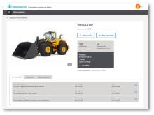 mySwecon - maskinsida i systemet