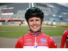 Ingrid Moe under EM Landevei 2017 i Danmark