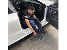 Dan Aiyegbusi in white Mercedes_3