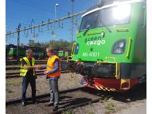 Green Cargo Transmontana-lok överlämning