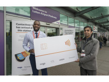 Pay as you go with contactless launch