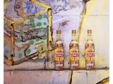 Konsumenten können ihrer Kreativität freien Laufen lassen und  Ideen zum Upcycling der Flasche entwickeln
