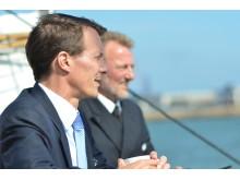 Protektor for skibet HKH Prins Joachim