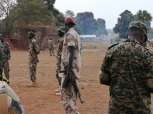 Vapenembargo mot Sydsudan - soldater i South Sudan People's Defence Forces (SSPDF)