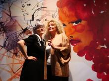 Pressbild - Bea Szenfeldt och Stina Wirsén