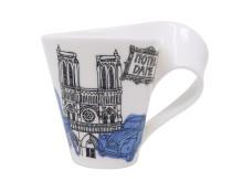 NewWave Caffè Cities of the World Notre-Dame de Paris Becher