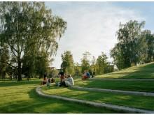 Sandgrundsparken i Karlstad