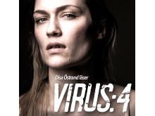 Omslag: Virus säsong 4 av Daniel Åberg