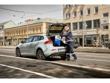 Volvo In-car Delivery växer med fler leverantörer