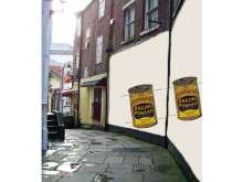 How the Butts ginnel could look