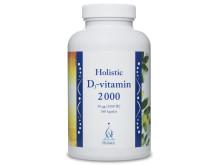 Produktbild Holistic D3-vitamin 2000IE, 360 kapslar