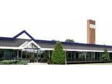 Norton Clipper fabriek in Bascharage, Luxemburg