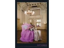 Kalenderblatt für September - Hôtel de Pologne