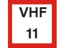 Obligatorisk passning av anvisad VHF-kanal