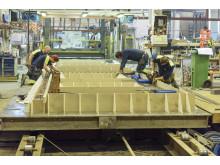 Att ta fram betongelement är ett hantverk